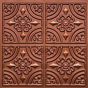 Great 1200 X 600 Ceiling Tiles Small 2 X 4 Ceramic Tile Square 2X4 Ceiling Tiles 4 Inch Tile Backsplash Young Acoustic Ceiling Tiles 2X4 BrightAcrylic Pro Ceramic Tile Adhesive Amazon.com: Discounted Victorian Faux Copper #205 PVC 24\