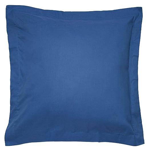 Sancarlos - Combicolor Funda de cojin, 60x60 cm, color azul oscuro