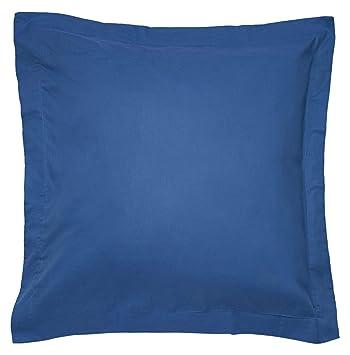 Sancarlos - Combicolor Funda de cojin, 60x60 cm, color azul oscuro: Amazon.es: Hogar