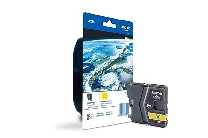 Brother LC985 - Cartucho de tinta amarillo (duración estimada: hasta 260 páginas según ISO/IEC 24711)