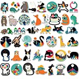 Sanmatic Cute Stickers(100Pcs),Waterbottles and Laptop Aesthetic Trendy Decal Sticker Pack for Kids,Teens, Girls, Women Vinyl Stickers Waterproof