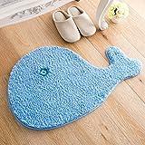 Creative carpets bedroom bathroom living room door mats non-slip foot pads water-absorbing pad -5070cm A