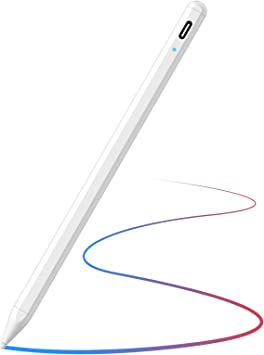 Amazon Com Lápiz Capacitivo Para Ipad Con Rechazo De Palma Y Diseño Magnético Recargable Active Stylus Compatible Con 2018 2020 Apple Ipad 6th 7th 8th Gen Ipad Pro 11 Y 12 9 Ipad Mini 5th Gen Ipad Air