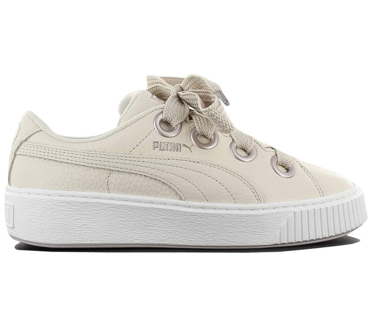 on sale 0a520 840ef Puma Platform Kiss Trainers Natural: Amazon.co.uk: Shoes & Bags