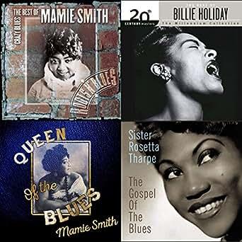 100 greatest blues songs from women by sister rosetta tharpe mamie rh amazon com