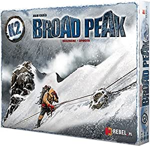 K2: Broad Peak Expansion - Juego de tablero (Portal Publishing POR008) (versión en inglés)