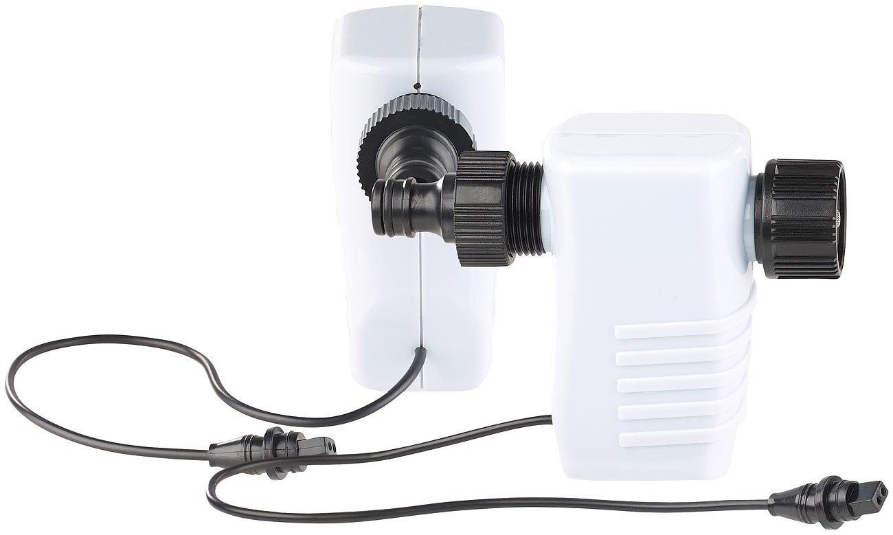 Bew/ässerungs-Adapter mit Magnet-Ventil f/ür Station BWC-400 2er-Set Bew/ässerungs-Anschlussverteiler Royal Gardineer Zubeh/ör zu Bewaesserungscomputer