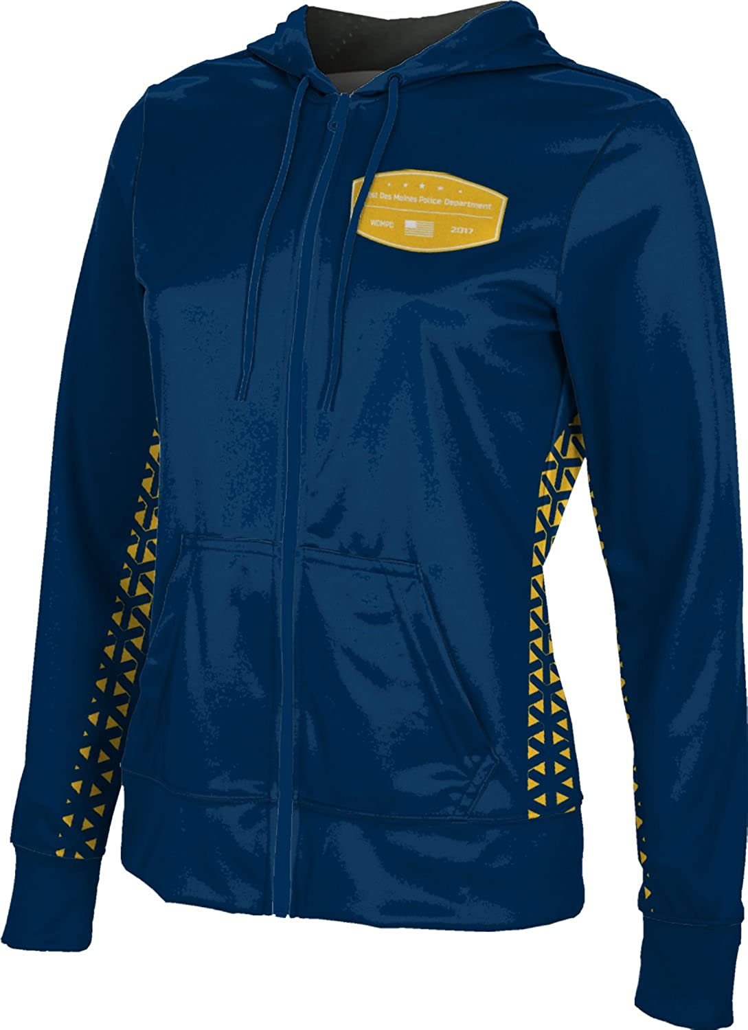 ProSphere Women's West Des Moines Police Department Geometric Fullzip Hoodie