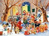 img - for Santa's Sleigh Advent Calendar book / textbook / text book