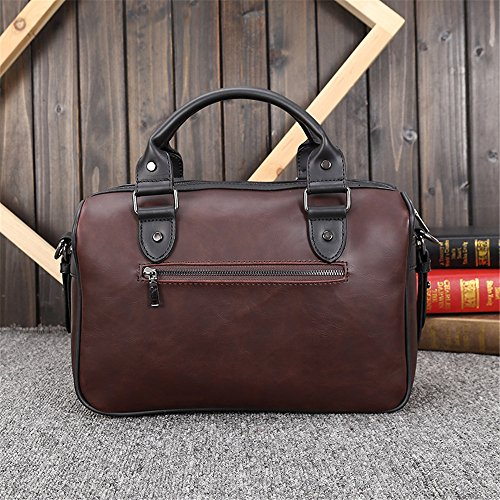 Xuanbao Business nbsp; Retro Men's Casual Fashion Tote Travel Shoulder Bag 4Baq4