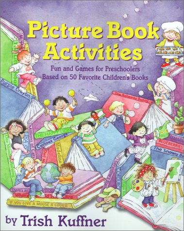 Toddler activities books