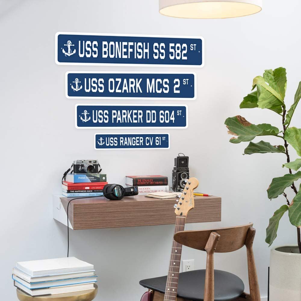 /24 Wide Plastic Sign EASY Street Sign signs road famous fun rich Indoor//Outdoor
