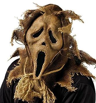 Scream máscara de espantapájaros