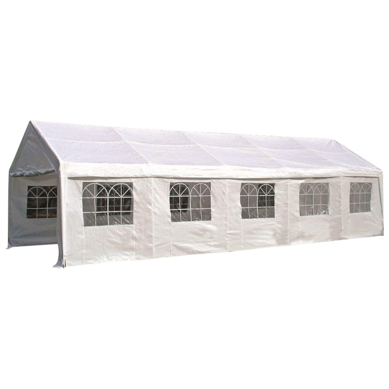 Ersatz Dachplane für Zelt 4x10 Meter, PE weiss