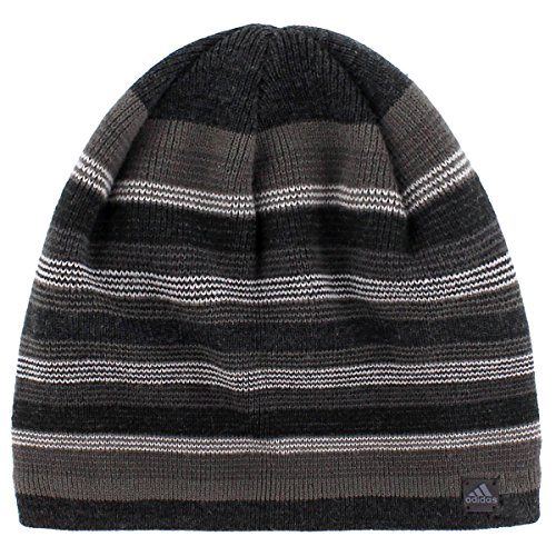 Adidas Jersey Hat (adidas Men's Keystone II Beanie, Black/Deepest Space/Grey/Light Onyx/Dark Grey, One Size)