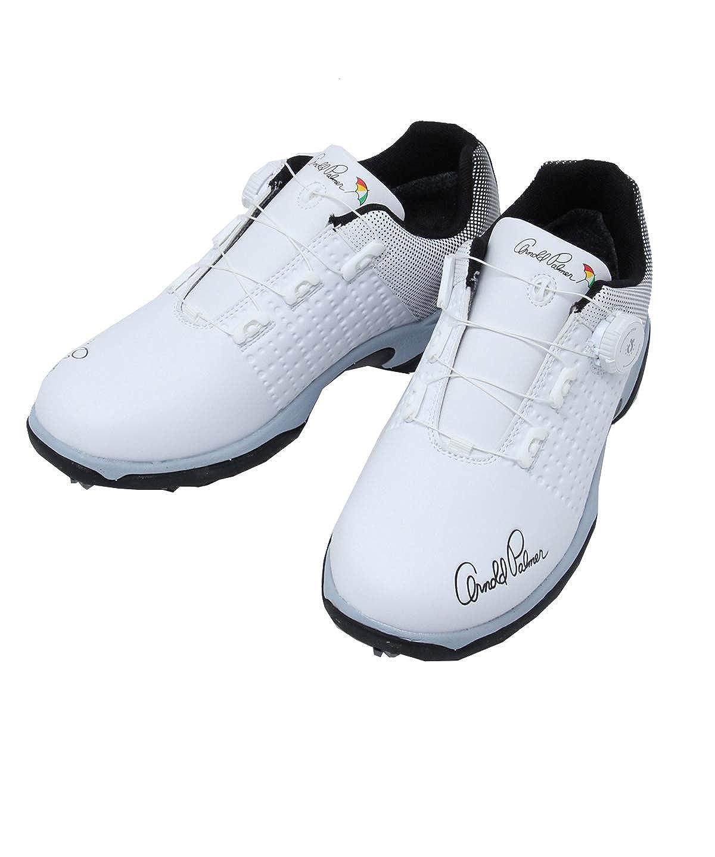 [アーノルドパーマー] ゴルフシューズ ソフトスパイク メンズ APS-03H WH 26.0