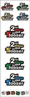 2ND Place is the 1st looser Set di frecce auto adesivo Sticker JOllify