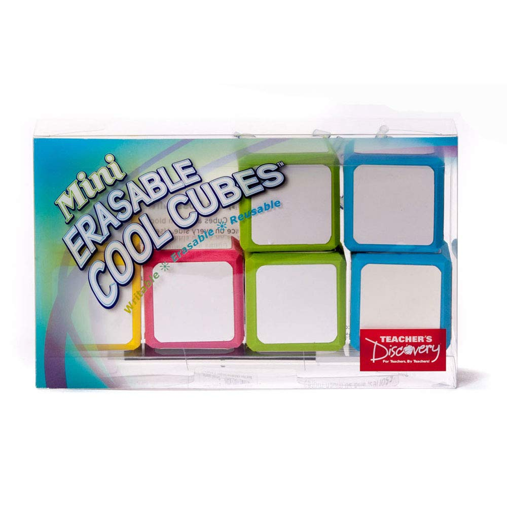 Mini Erasable Cool Cubes by Teacher's Discovery