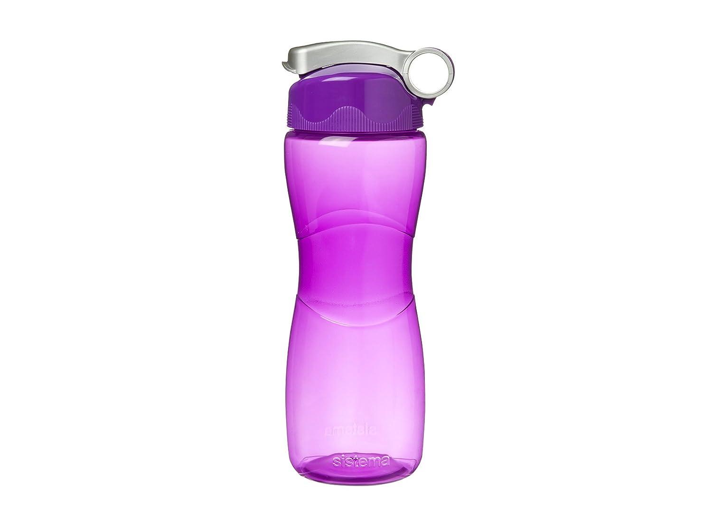645/ml farblich sortiert Sistema Hourglass Trinkflasche
