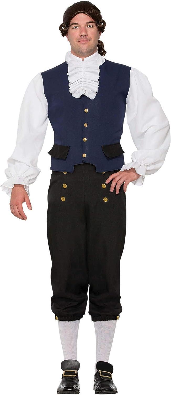 Forum Men's Goodman Alexander Costume, Multi-Colored, Standard