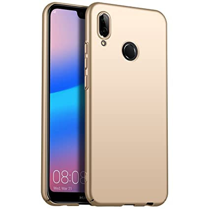 Amazon.com: Avalri Huawei P20 Lite Case, Huawei Nova 3E Case, Ultra Thin Anti-Fingerprint and Minimalist Hard PC Cover for Huawei P20 Lite (Silky Gold): ...