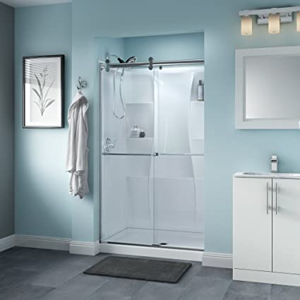 Delta Shower Doors Sd3276541 Linden 48 X 71 Semi Frameless