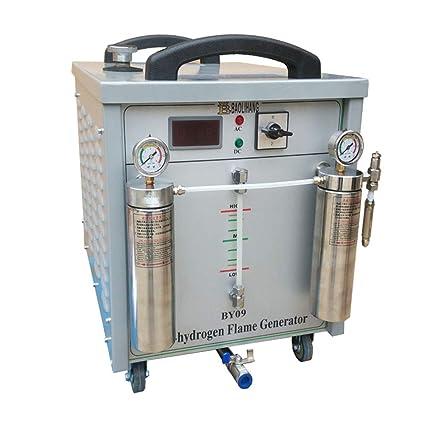 Baoshishan Oxígeno Generador de hidrógeno Agua Soldador Commercial Llama Pulido Máquina 220V (800W 250L)