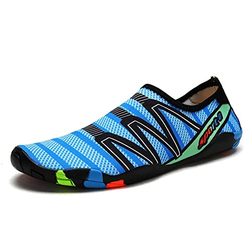 8bc6175adb2e4 Mens Womens Water Shoes Quick Dry Barefoot Water Sports Shoes Aqua Socks  Unisex Beach Swim Shoes