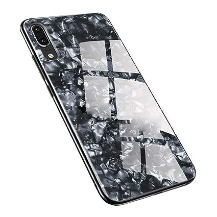 Amazon.com: Stilluxy P20 Funda de cristal compatible con ...