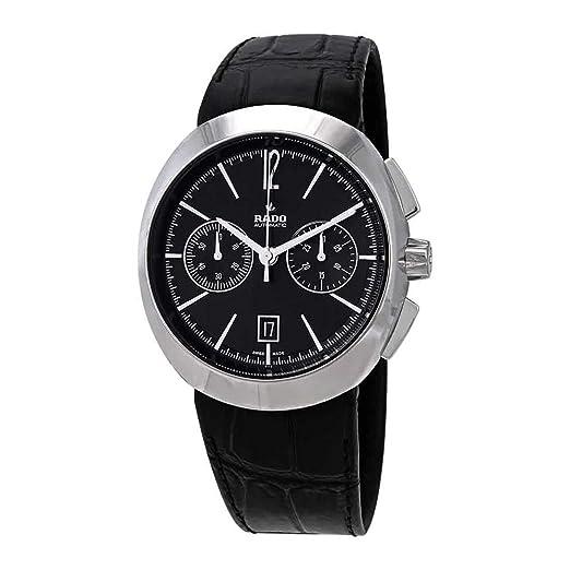 RADO D-STAR RELOJ DE HOMBRE AUTOMÁTICO 44MM CORREA DE CUERO R15198155: Amazon.es: Relojes