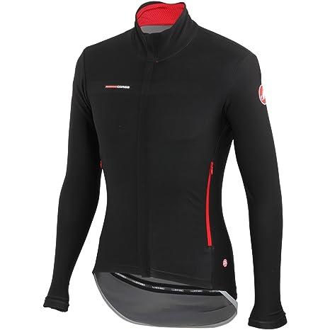CASTELLI Gabba 2 Long Sleeve Negro y Rojo rojo rojo Talla:XL: Amazon.es: Deportes y aire libre