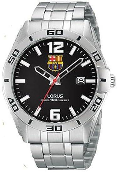 641e352dabe6 Reloj lorus f.c.b.ESF.ng. Mens Analogue Quartz Watch with Stainless-Steel  Bracelet