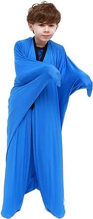Sanho Yopo Dynamic Movement Sensory Sock, Large,9-12 years old, 56''LX28''W Blue