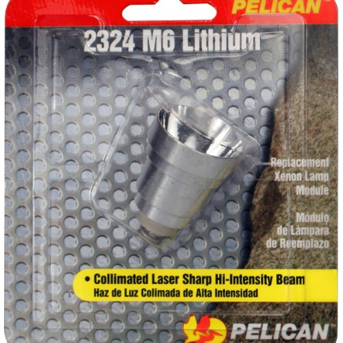 Pelican 2324 Xenon Replacement Lamp for 2320 M6 (Pelican Replacement Xenon Lamp)