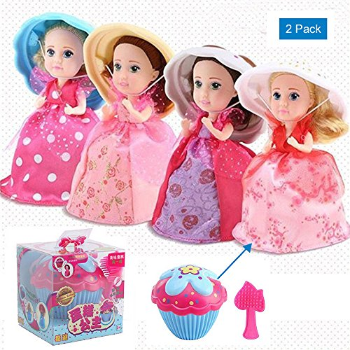 Princess Toys For 3 Year Olds : Pack cupcake surprise scented princess doll magic gift