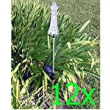 GTMax Solar Powered Lighthouse Garden Stake Color Changing Light – 12 PCS Review