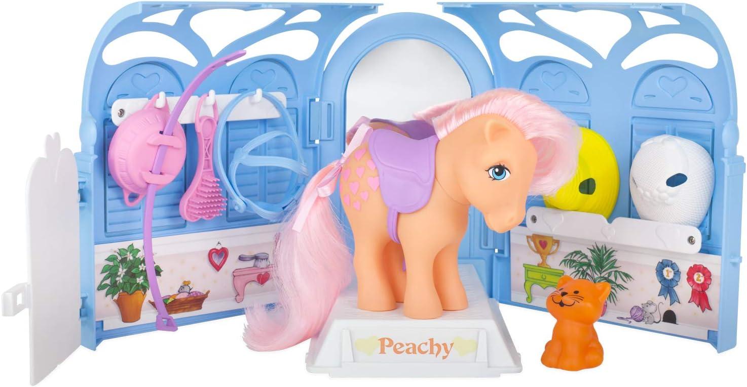 My Little Pony 35235 - Juego de salón Retro con diseño de melocotón, Multicolor