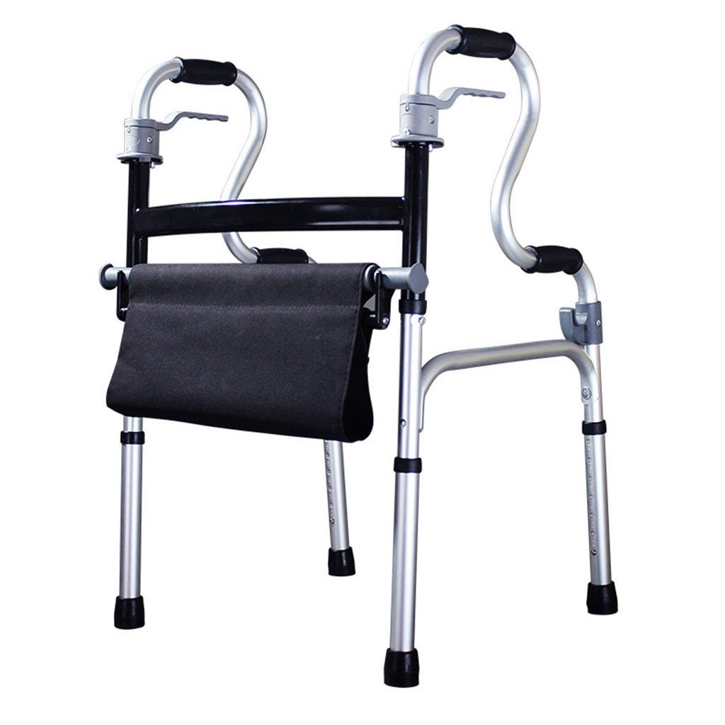 HTTDIAN 車輪付きシート付きウォーカー - 高齢者手押し椅子リハビリ用医療歩行器アームレストウォーカー   B07Q6PMTW1