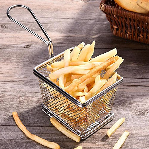 Cuisinox FRY-BSK Personal French Basket, Silver