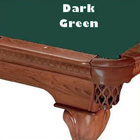 9 verde oscuro Proline velocidad 101 de billar mesa de billar paño fieltro: Amazon.es: Deportes y aire libre