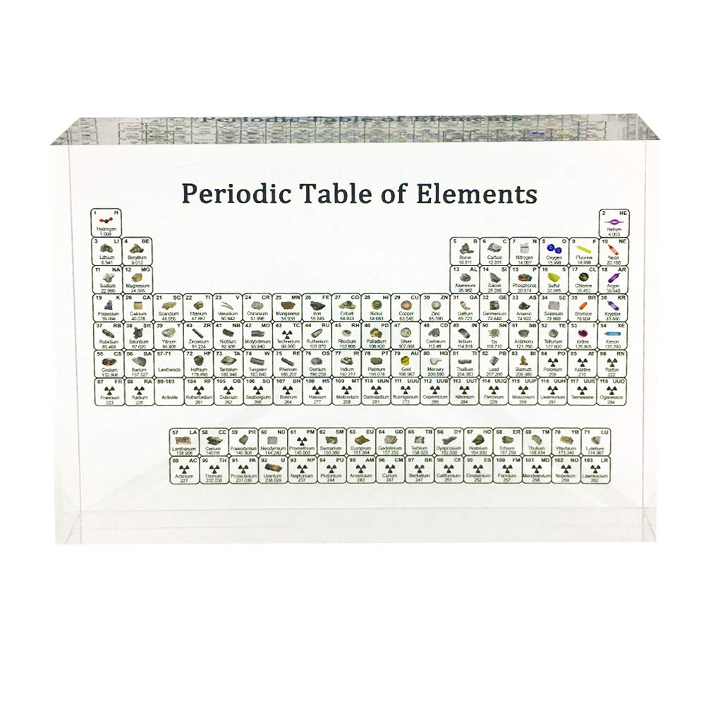 Periodic Table of Elements Educational Chart for Kids Students Teachers,Creative Chemistry Chart,School Classroom Home Office Science Decoration by Waful