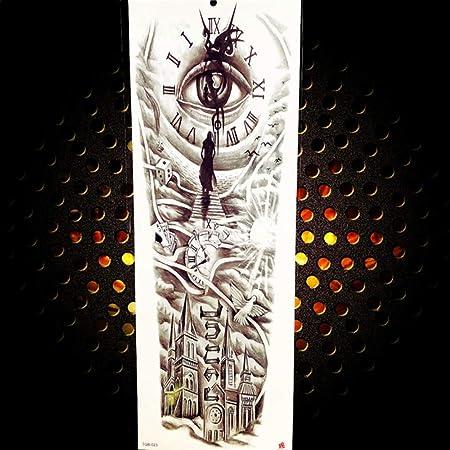 2 Unids-Brazo Completo Etiqueta Engomada Del Tatuaje Temporal de ...
