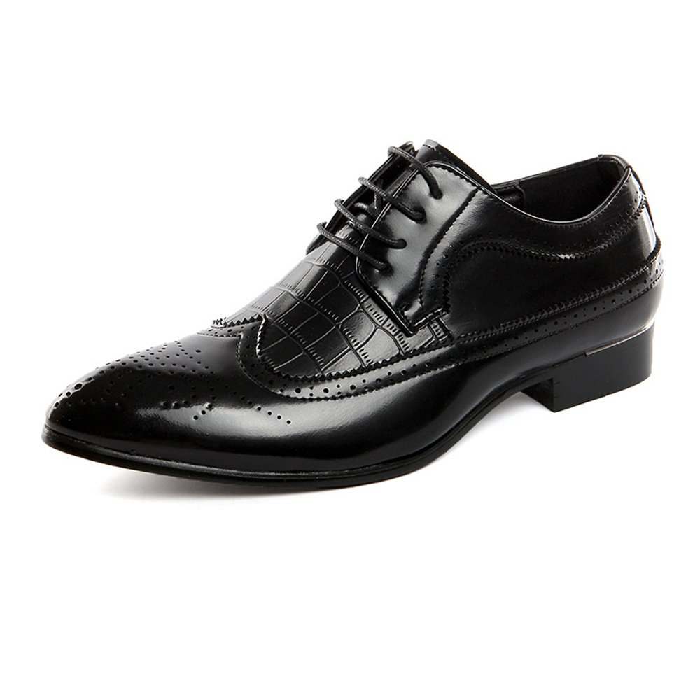 f02882f0bba9 Amazon.com: Ruiyue Leather Oxford Shoes Men,Classic Hollow Carving ...
