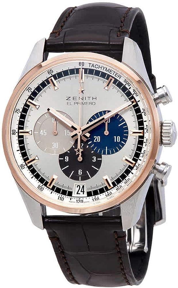 Zenith Chronomaster El Primero Chronograph Automatic Silver Dial Mens Watch 51.2080.400/69.C494