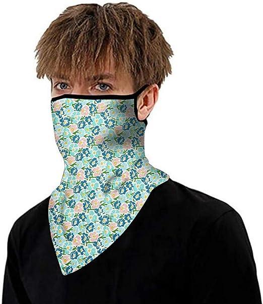Unisex Rave Bandana Neck Gaiter Tube Headwear For Women Men Face Scarf Bicycle Bike Face Shield Mask Riding Neck Headwear One Size 4