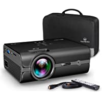 VANKYO Leisure 410 Vidéoprojecteur Portable 2500 Lumens Rétroprojecteur Mini Projecteur LCD Compatible avec Amazon Fire TV Stick, Smartphone, Tablette, PS3, PS4 Noir