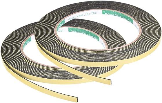 3mm de espesor de 13 pies de largo de burlete adhesivo sourcing map Cinta de sellado de espuma de 15 mm de ancho