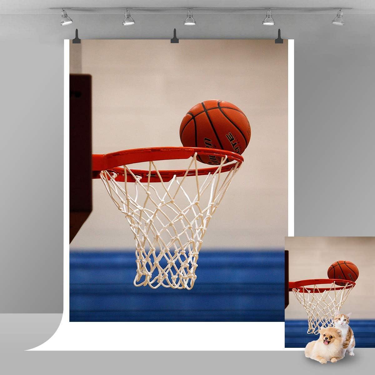 Fondo de Baloncesto para fotografía Deportiva con Fondo para niños ...