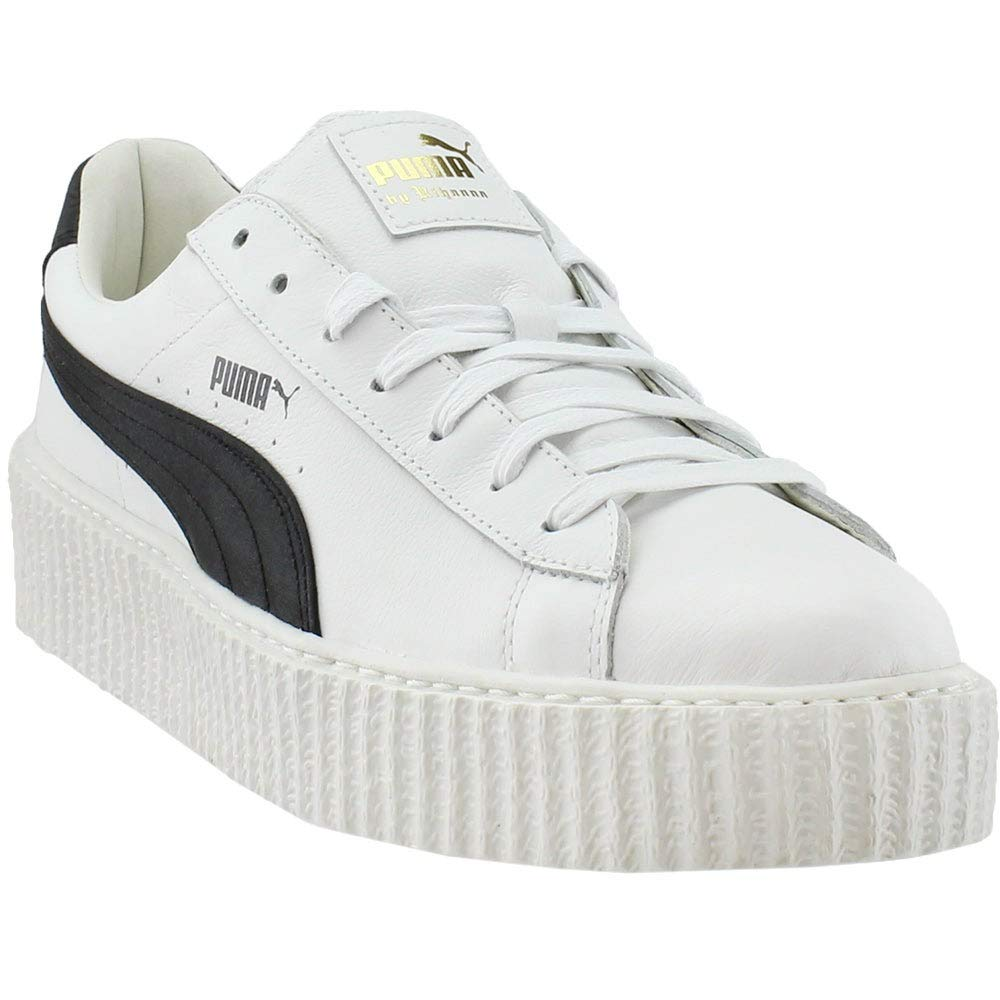 new arrival 0ad86 aa767 PUMA Select Men's x Fenty by Rihanna Cracked Creepers, White/Black/White,  11 D(M) US