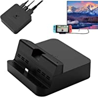 GeeekPi GuliKit NS05 Switch Dock Set, draagbare tv-dock voor Nintendo Switch met USB-C PD laadstation, HDMI-adapter en USB 3.0 poort, compatibel met Samsung Dex / PC modus Huawei